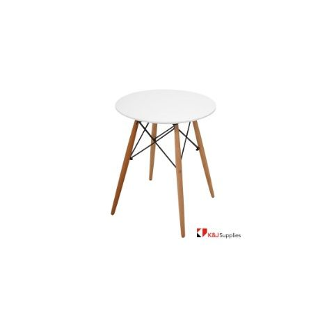 REPLICA EAMES DSW TABLE KIDS WHITE NATURAL BEECH WOOD 52 x 49 x 82CM